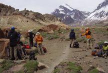 Trekking in Mendoza Argentina