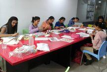 Painting workshops by INIFD, Gandhinagar / Painting workshops by INIFD, Gandhinagar