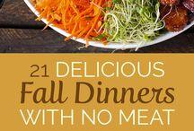 Fall Recipes :: Ricette Autunno / fall recipes, ricette per autunno