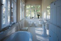 Stijlen: klassiek/retro / stijlen in de badkamer: klassiek/retro