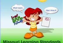 Missouri learning standards / Learning standards  / by Lavona Kellum