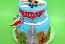 Planes cakes