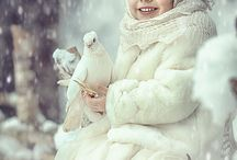 The children In the Snow