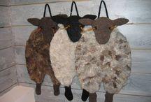 laget av ull / wool