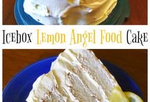 Angel food torták