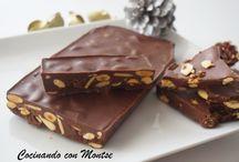 Turrones y chocolates