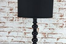 Jule / Lampe schwarz
