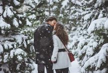 Снежный фотосет