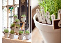 Wedding - Decor, Seating Charts and Place Settings