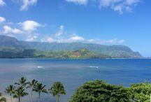 Magnifique Baie d'Hanalei à Kauai