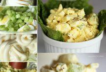veg Salad's and soup  recepies