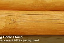 Log Cabin Supplies / Products for maintaining and/or restoring log homes.
