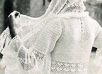 here comes the bride all dressed in vintage makes....patterns to make vintage wedding items....