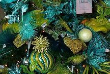 Navidad Verde Y Azul
