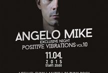 Posters / Angelo Mike's gigs.