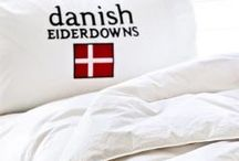 Goose down quilts / Luxurious Danish style goose down quilts, for all seasons and catering to all body temperatures, even couples. Made in Melbourne by the family owned and operated Danish Eiderdowns with over 50 years experience in the creation of lofty quilts and pillows