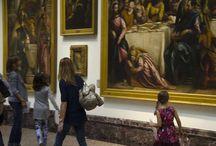 Il domino degli animali / In pinacoteca spuntano code, zampe, baffi: quanti animali ha Brera! Chi li ha fatti entrare nei dipinti? E perché? Prova a trovarne uno, poi un altro e un altro ancora: se li scoverai tutti completerai il tuo domino degli animali.