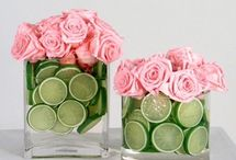 Lime + Pink Wedding / If you're going to pin everything... Then you might as well follow..