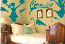 Cheer bedroom
