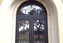 Wrought Iron Doors / The Best Wrought Iron Doors created 100% by hand  by porteusa.com