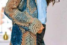 Crochet vest bolero cardigan