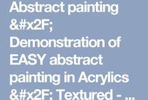 pintando abstractos