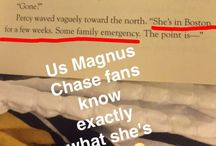 to remember when reading Magnus Chase