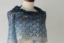 shawl van verloop garen