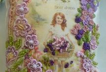 Daisys Garden Embroidery Kits