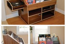 Recordplayer and storage
