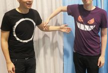 Dan and Phill <3 my babe's