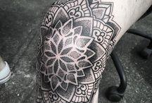 knee tats