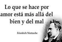 Gandhi - Nietzsche - Goethe - Witman - Fuentes