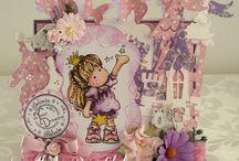 Magnolia Tilda Cards by Julie Gleeson