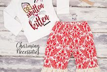 Baby Girl Valentines Day Outfits
