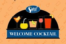 Yes! Welcome Cocktail - I cocktail delle strutture Yes