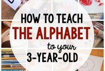teach alphabet