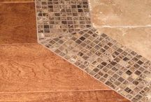 Si-CW Flooring / Creative flooring and transitions