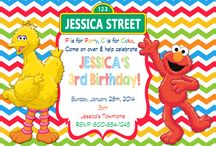 Sesame Street Birthday Invitations and party supplies / Sesame Street Birthday Invitations, Sesame Street Birthday Banner, Sesame Street Birthday Decorations, Sesame Street Birthday Party, Elmo Birthday Invitations, Elmo Birthday Decorations, Elmo Birthday Party, Sesame Street Decorations, Sesame Street Toppers