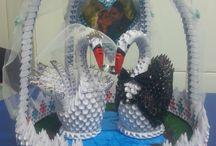 Swan 3D Schwan Schwäne
