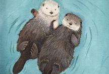 Otters / by janafalls