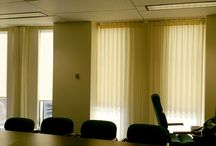 Window Shades - Attorney General of OH Conference Room / We were asked to provide and install window treatments. These are roller shades with a fascia front. Window shades add a classic look to a room, making them tasteful as well as functional. https://plus.google.com/+BellagioWindowFashionsToledo / by Window Treatments