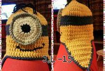 Mun omia virkkauksia. My crocheting.