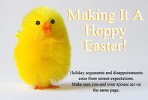 Healthy Holiday: Easter / Though I do include some cute looking treats, I tried to add in mostly healthy Easter recipes. Then there are Easter crafts and decor for the family :)