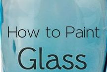 Glas verven