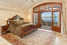 Sweet Master Suites / Master suite is a retreat that should be restful and an escape for it's owners. Bedrooms, baths, sitting rooms and so much more.