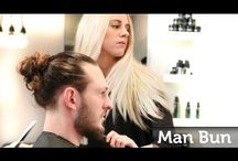 Hair Styles for Long Curly Man