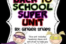 Superhero Theme (Super LEARNERS) / by Shannon Selzler