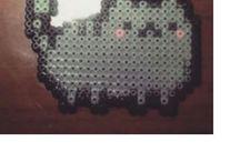 A Hama Totoro, Pusheen, gorjuss, Pou