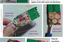 How to make zipper tab